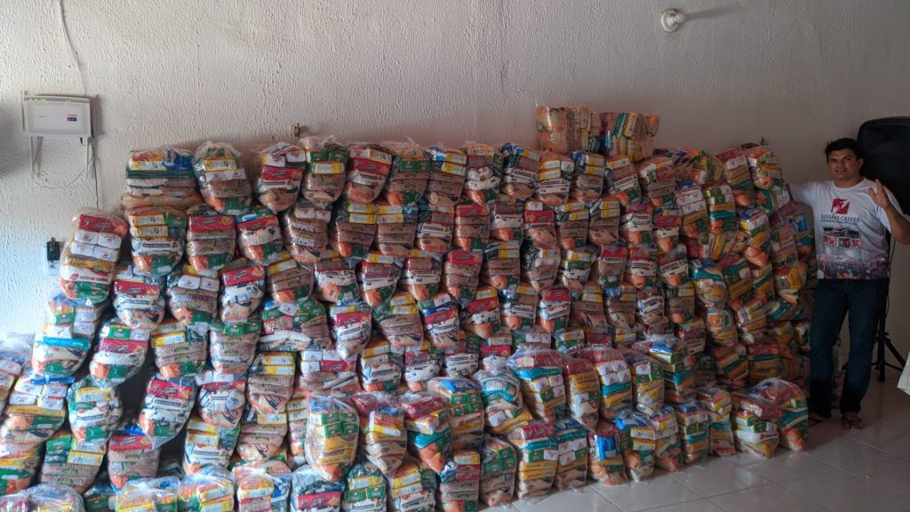 Tons of food donated