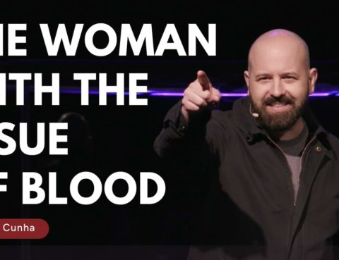 Woman with the issue of Blood